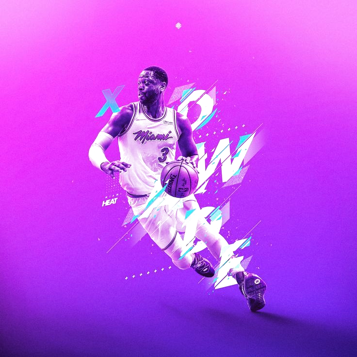 Nba Ilustraciones Nascar Nba Ilustraciones Nascar Nba Wallpapers Nba Players Nba Basketball Nba In 2020 Nba Wallpapers Dwyane Wade Sports Graphic Design