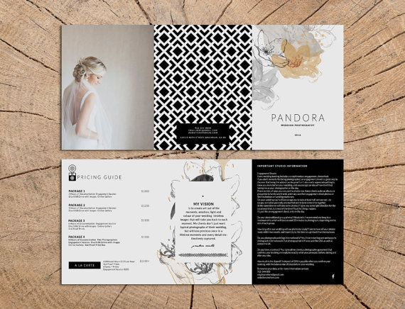 5 x 7 tri fold brochure double sided psd file template for. Black Bedroom Furniture Sets. Home Design Ideas