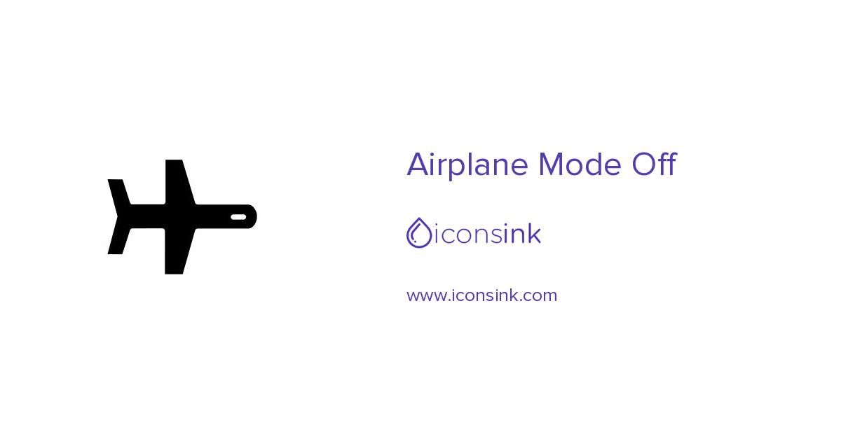 Airplane Mode On Symbol Free Vector Icons Designed By Google Vector Icon Design Free Icons Icon Design