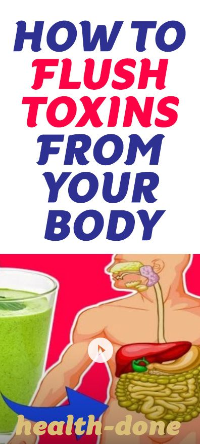 how to rid your body of toxins fast