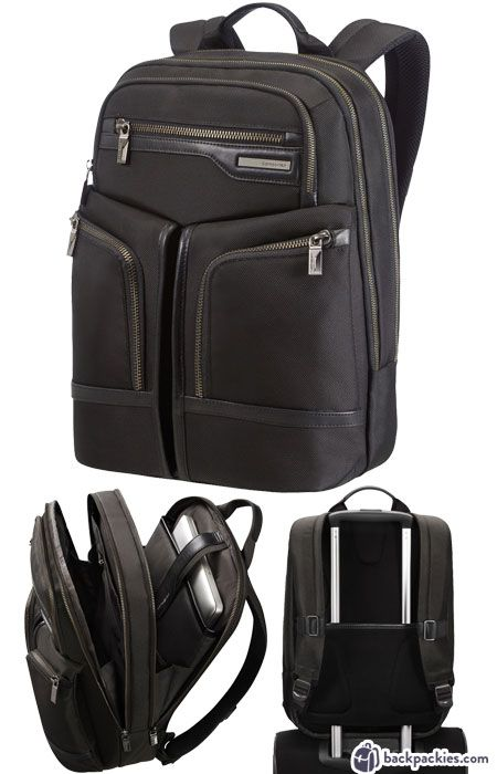 b86e296c92d2 Samsonite business travel backpack - Brands like Tumi - Read review at  backpackies.com