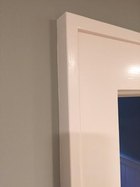 Backband Trim Paint In 2019 Craftsman Door Interior