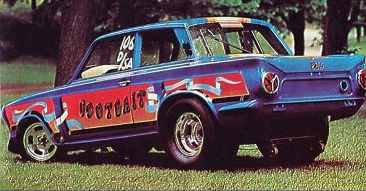 Ford Cortina V8 Dragcar 351 Cleveland Fomoco Wild Ford