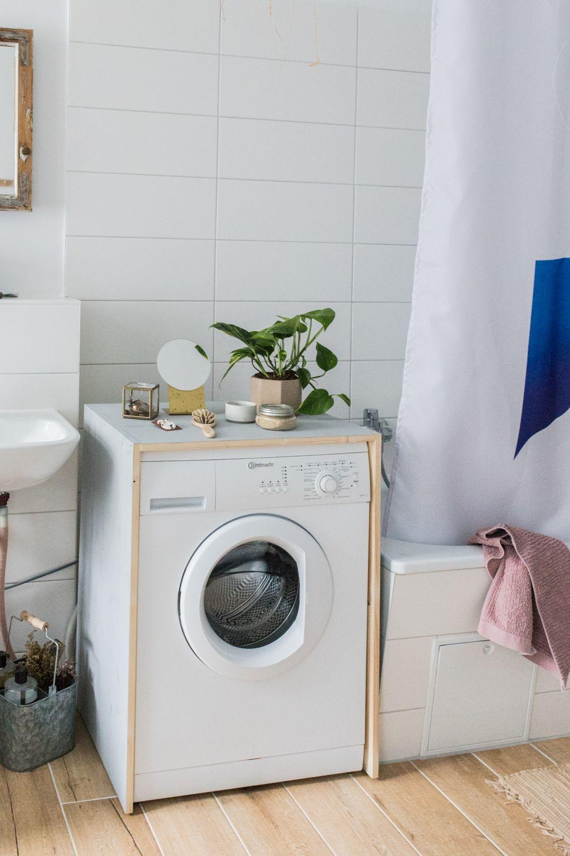 DIY Waschmaschinen Verkleidung • doitbutdoitnow  Waschmaschine