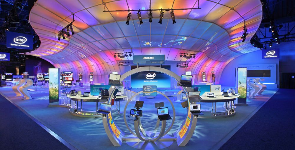 Exhibition Stand Awards : Intel ces 'the wave 'grand prix winner of the