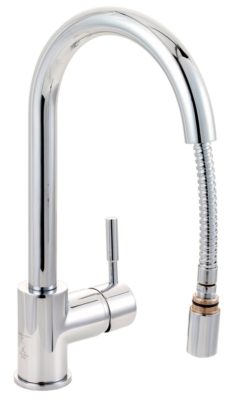 Cooke & Lewis Saru Chrome Effect Pull Out Tap | Departments | DIY ...