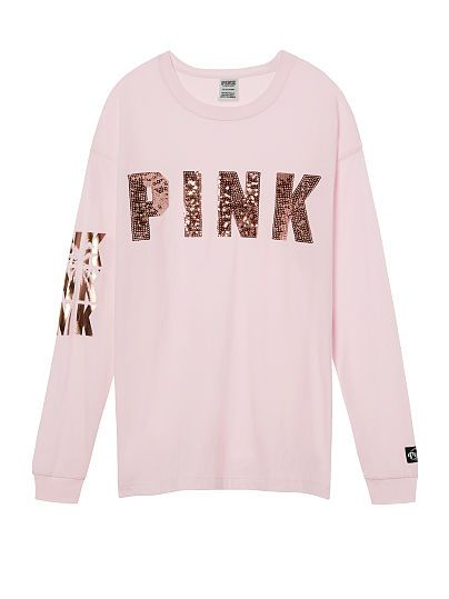 Victoria's Secret PINK Low Cut Back T-Shirt White M//L NEW medium large