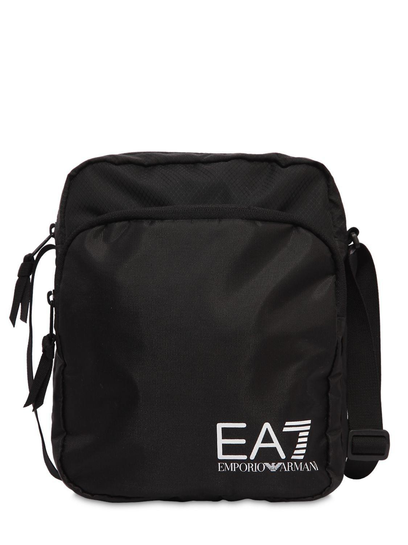 EA7 EMPORIO ARMANI TRAIN PRIME NYLON POUCH BAG.  ea7emporioarmani ... c3cf781c28877