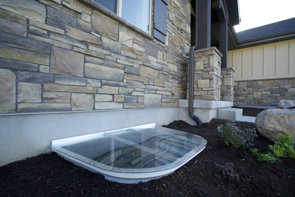 Custom Window Well Covers In Utah Wasatch Covers In 2020 Window Well Cover Window Well Custom Windows
