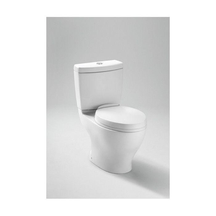 Toto Aquia Dual Flush 1 6 Gpf 0 9 Gpf Elongated 2 Piece Toilet With 12 Rough In Reviews Wayfair Toilet Dual Flush Toilet Contemporary Toilets