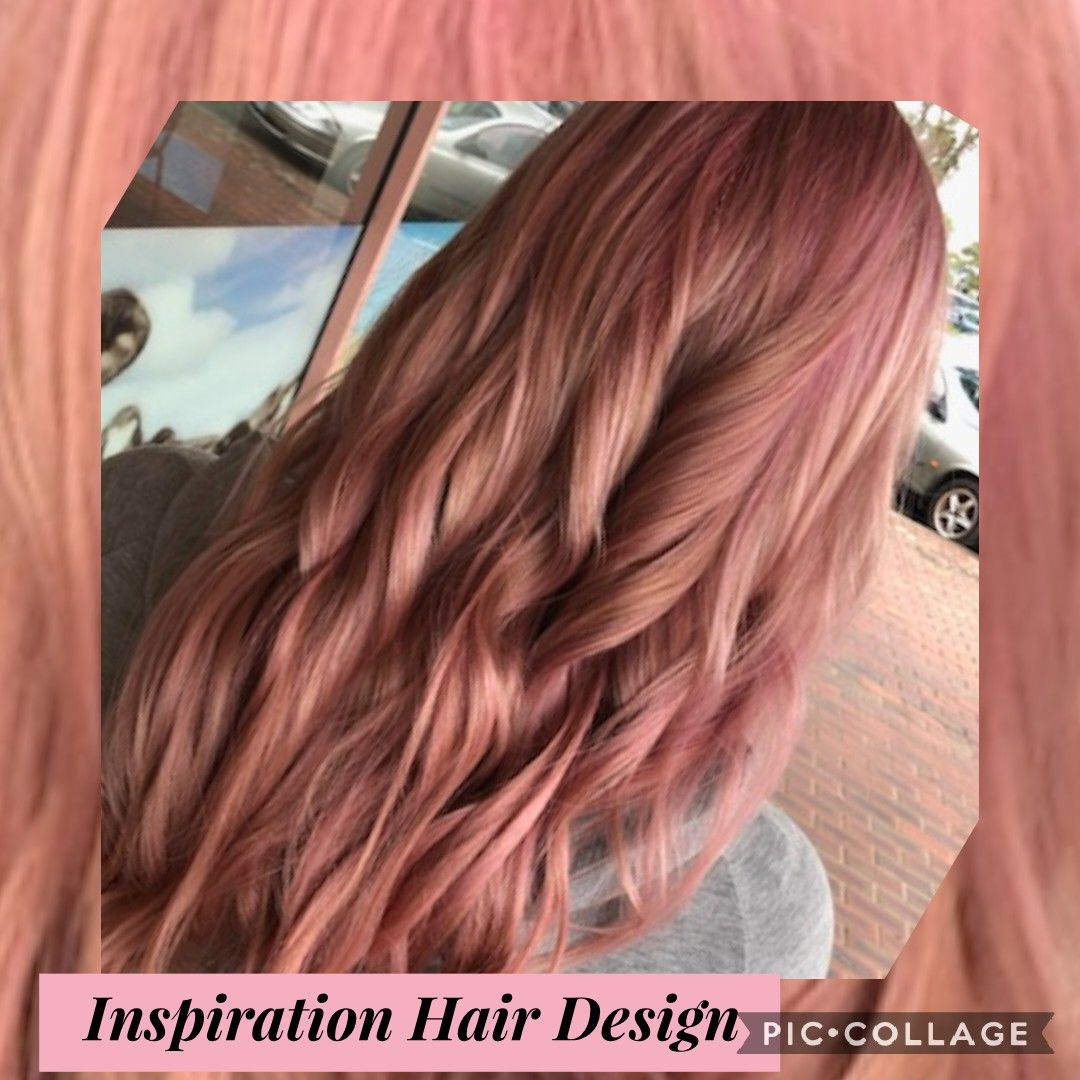 Whole Lotta Fun With Fairy Floss Pink Maintain This Tone With Our Delorenzo Rose Gold Shampoo Inspirationhairdesign Hair Inspiration Fresh Hair Hair Makeup