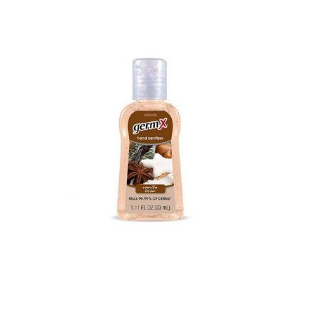 Germ X Germx 1 11oz Vanilla Bean Hand Sanitizer Hand Sanitizer