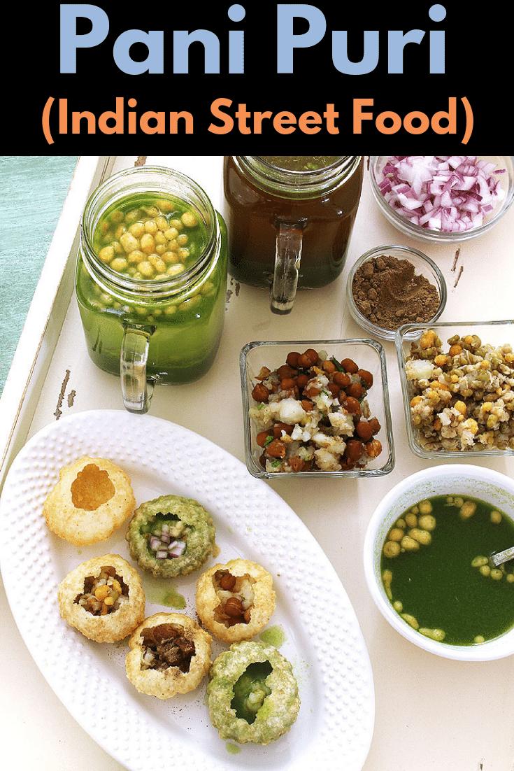 Pani puri recipe (Golgappa or Puchka)