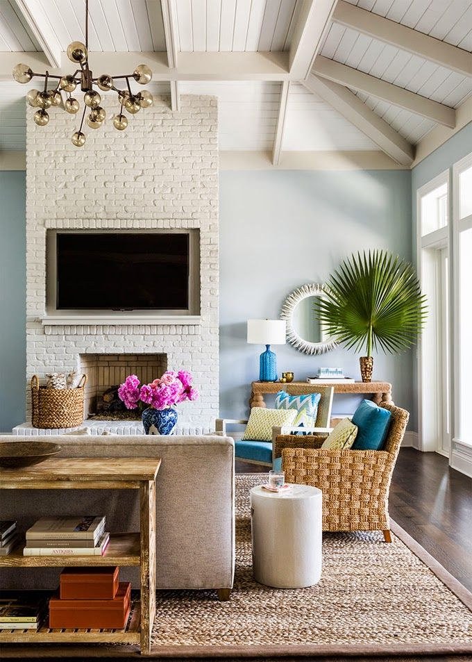 17 Best Images About Lovely Living Rooms On Pinterest | Coastal