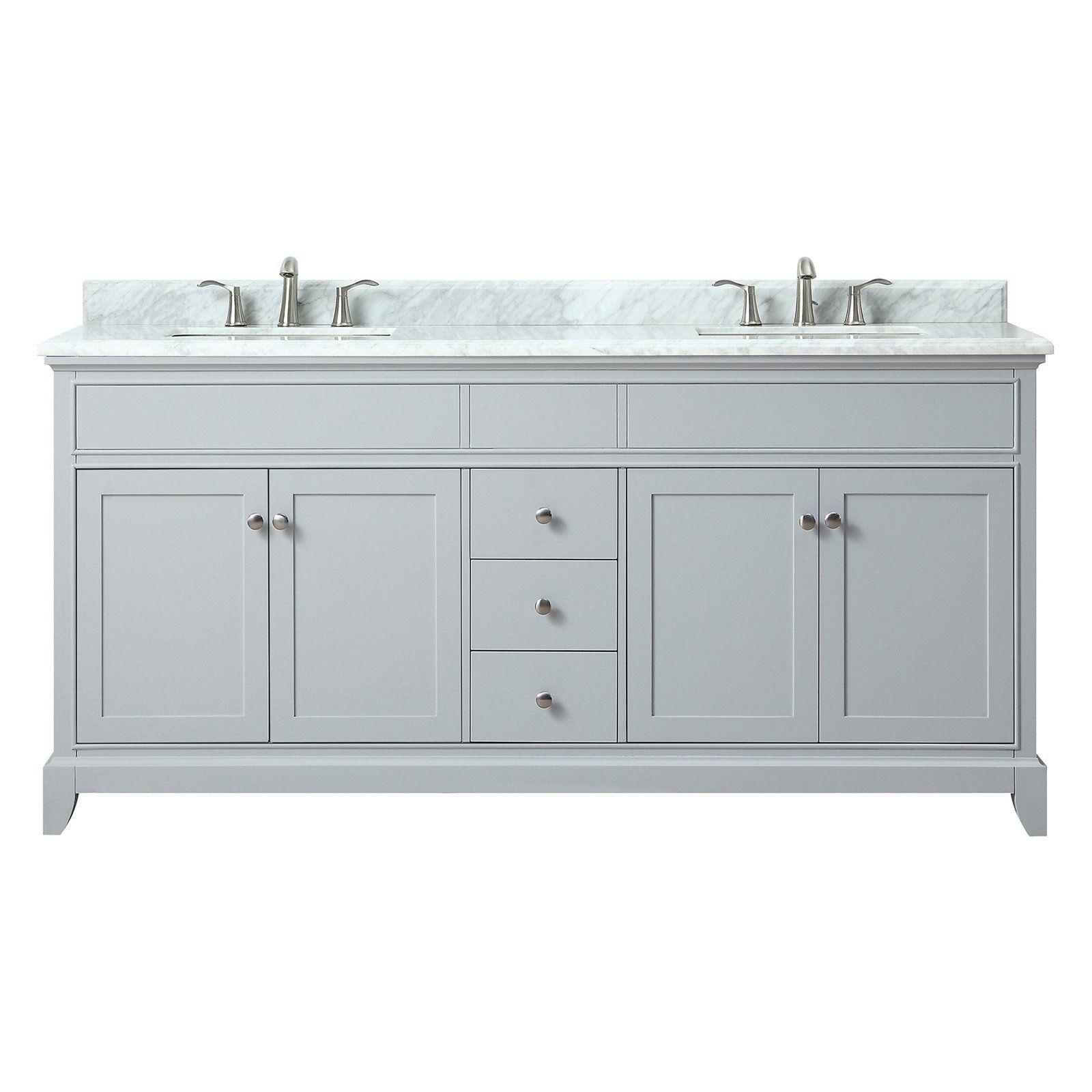 Azzuri Aurora 61 In Double Sink Vanity Double Sink Vanity