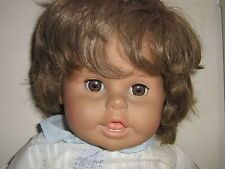 1980s Zapf Creation Quot Sharon Quot Toddler Girl Doll 24 1 2