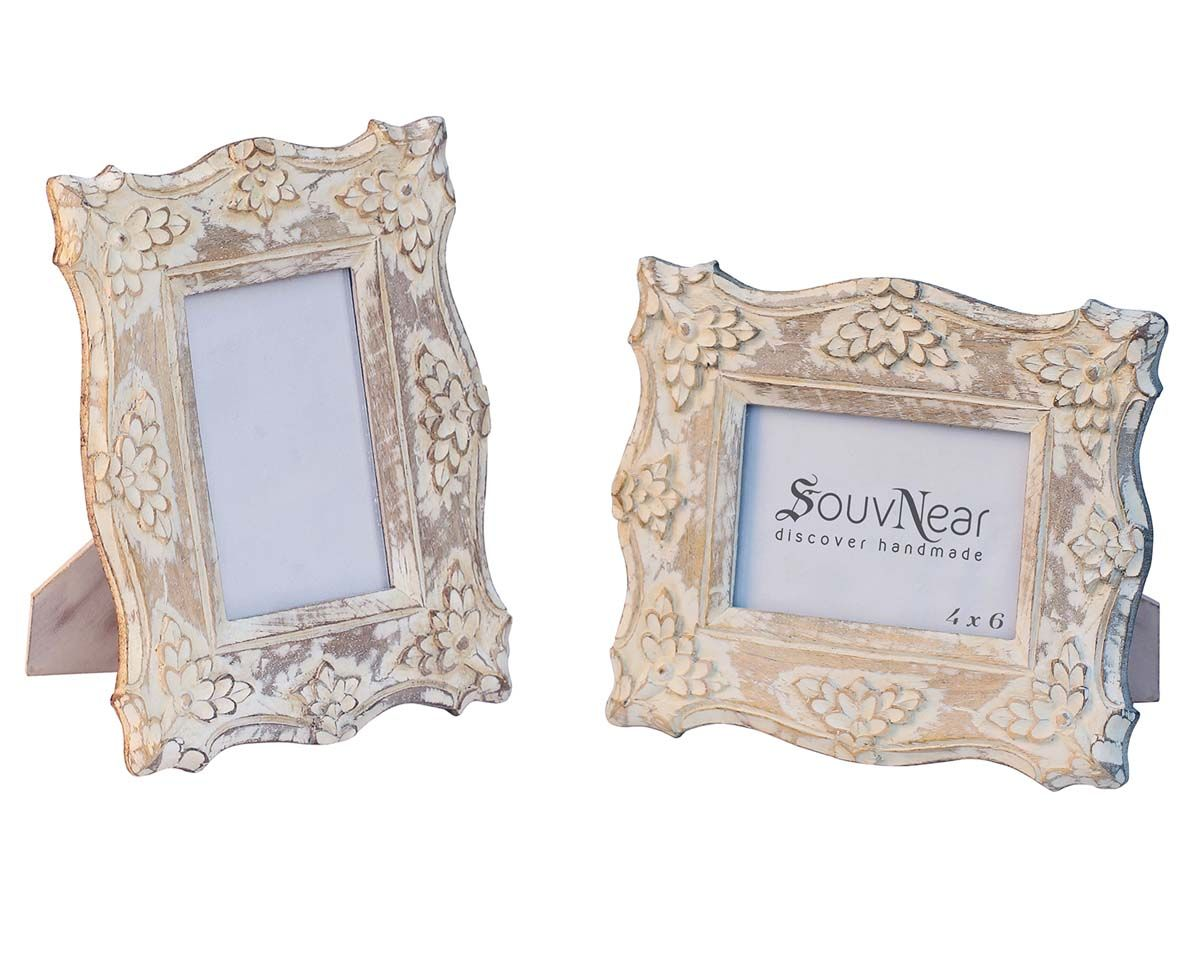 Buy 4x6 Inches White Shabby Chic Picture Frame in Bulk – Wholesale ...
