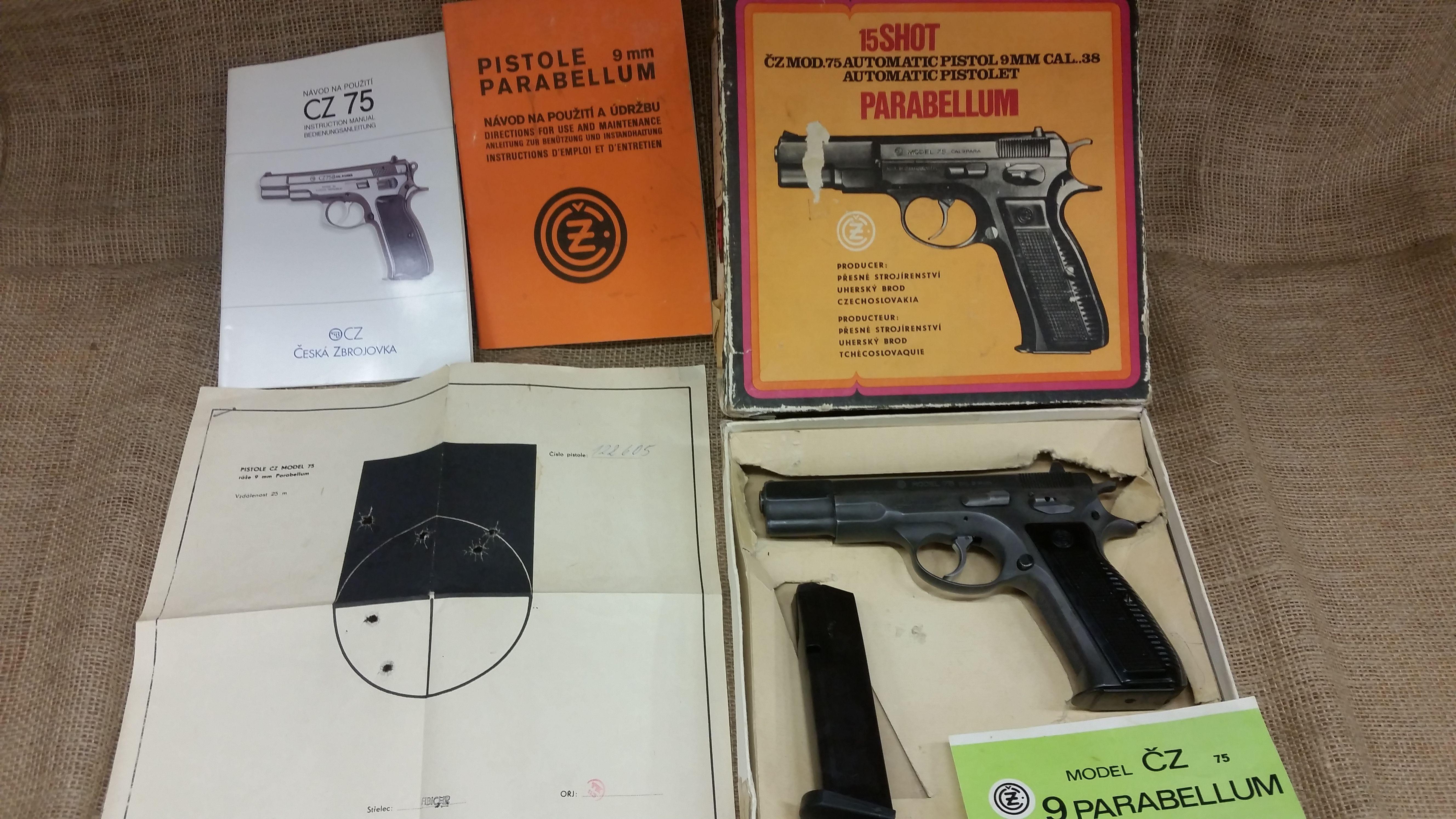 Cz75 In Original Box Chesterfield Armament Pinterest Us Store