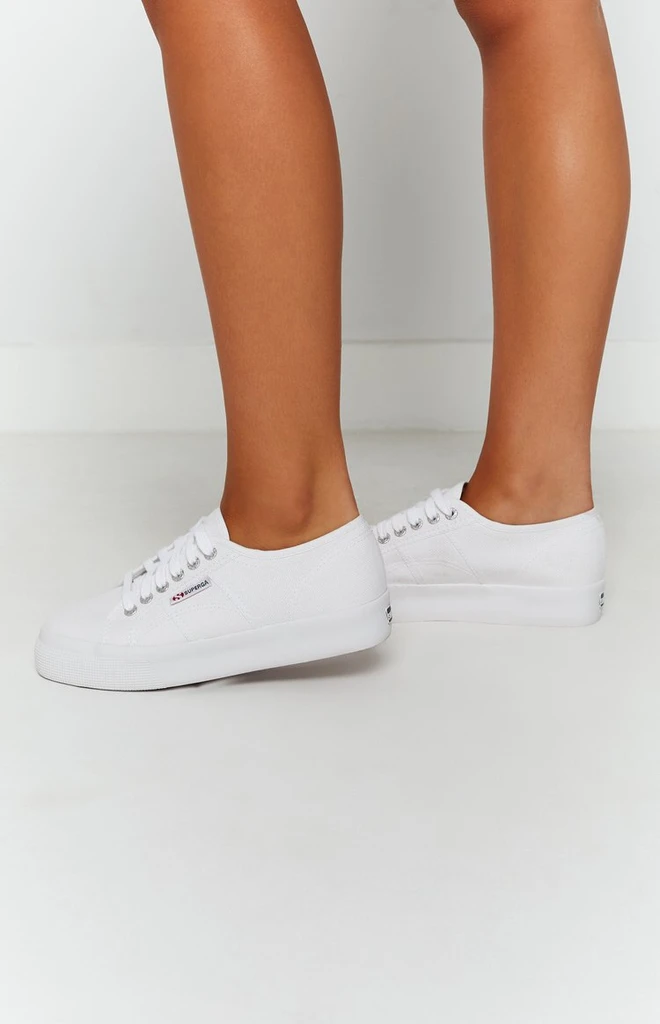 Superga 2730 COTU Canvas Sneaker White