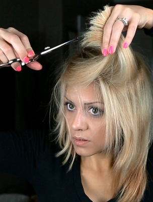 How To Cut Your Own Hair Step Number One And This Is Critical To