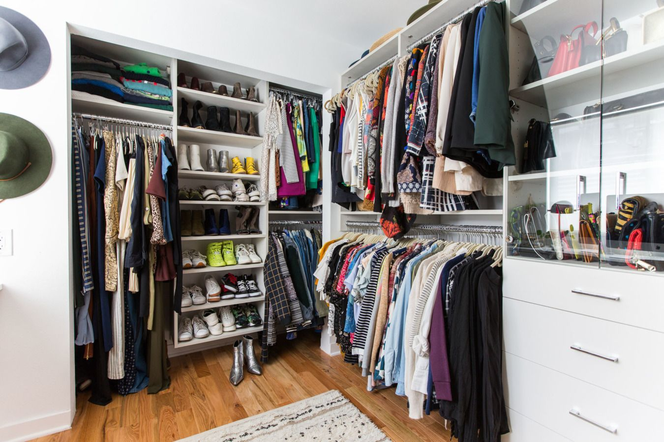 Before & After A Los Angeles Home Transformation Closet