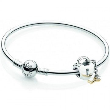 e32efe262e4 Pandora Set Bangle KEY TO MY HEART