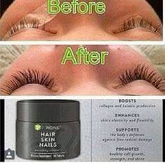 Hair Skin Nails (HSN) I'm in love with these!! No need for falsies when you can have the real thing.. Healthier hair, nails and skin!! #crazywrapthingbyrachelle