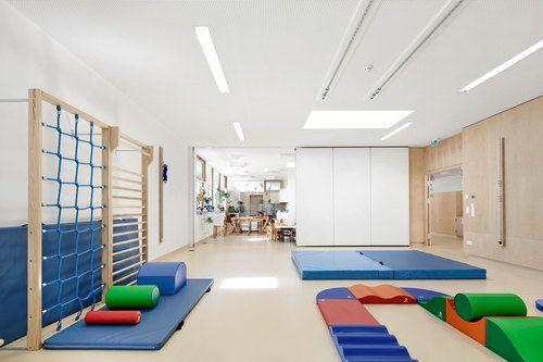 Neufeld an der Leitha, Austria  Kindergarten Neufeld an der Leitha  SOLID ARCHITECTURE