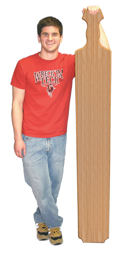 Advertisment For Tall Paddle 6 Foot Paddle Fraternity Paddle Sorority Paddle Paddle Tramps Greek Life Paddletramps
