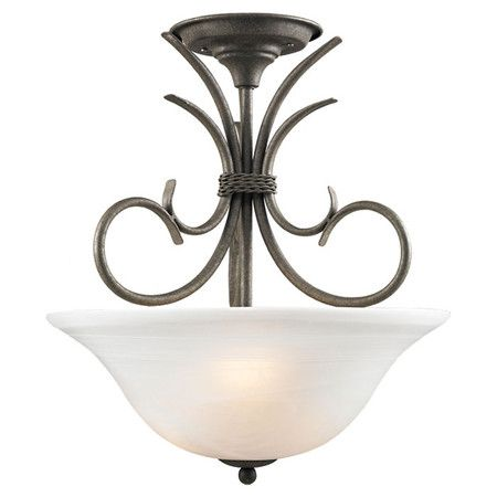 I pinned this Sheffield Semi-Flush Mount from the Lighting Under $150 event at Joss and Main!