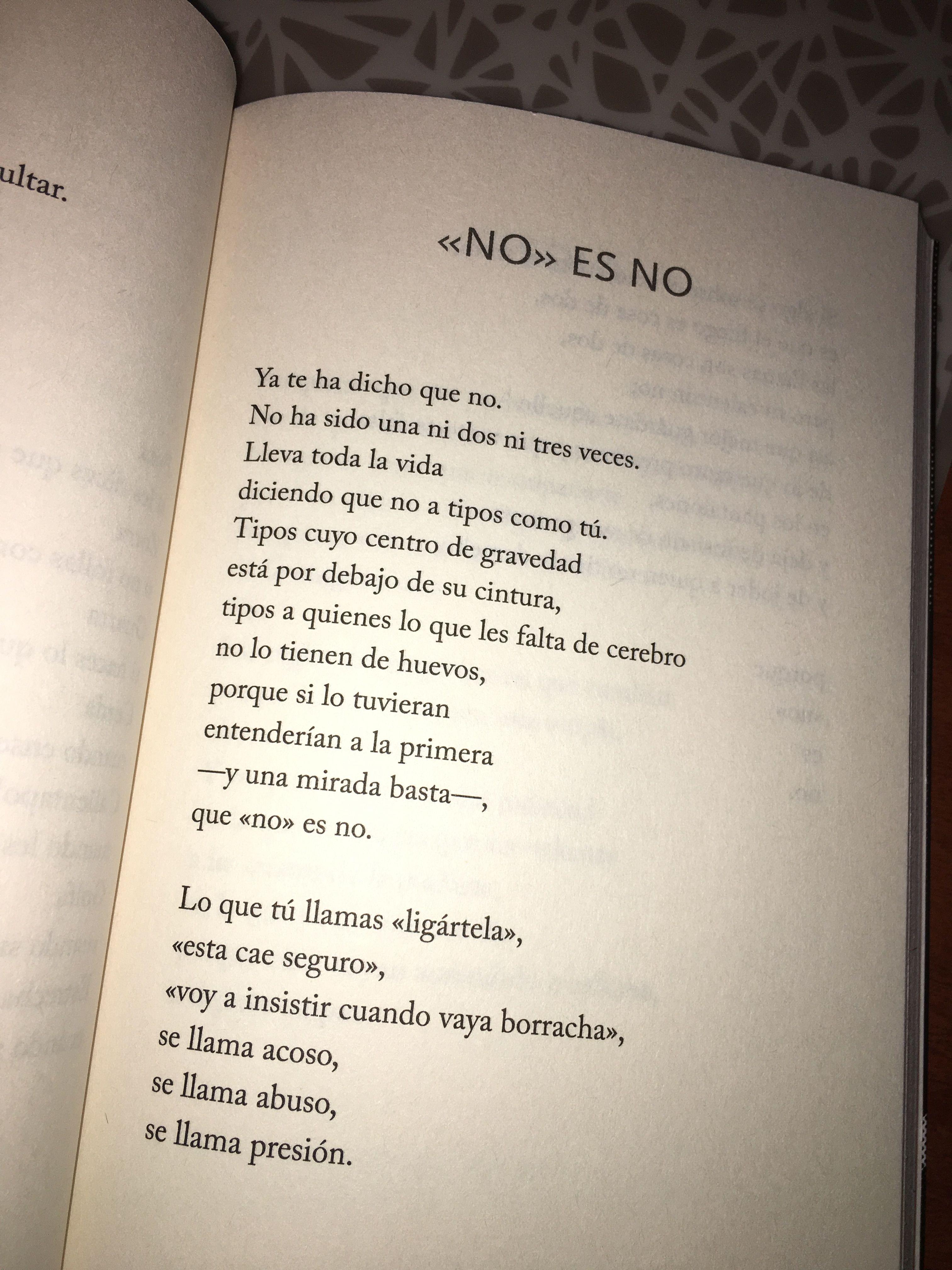 No Es No Miguel Gané Ahora Que Ya Bailas Poemas