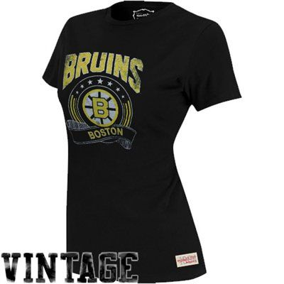 100% authentic 73c8c a8491 Mitchell and Ness Boston Bruins Ladies Vintage Tailgate Crew ...