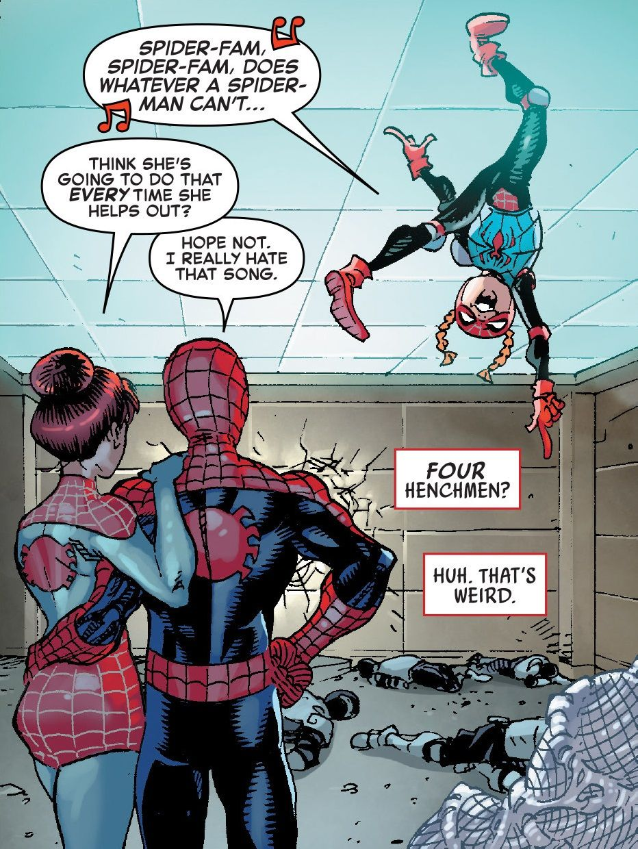 Amazing Spider-Man: Renew Your Vows #5, p 18 | Peter Parker