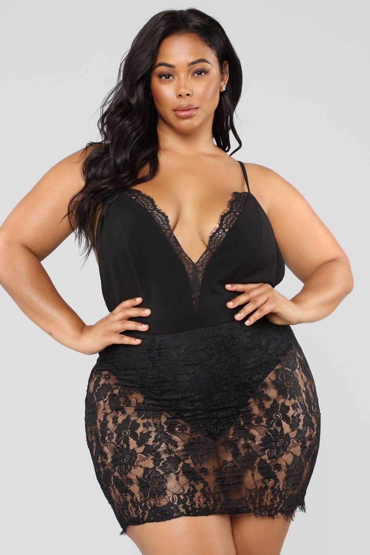 50b446ad4e9b4 Late Night Out Lace Dress - Black