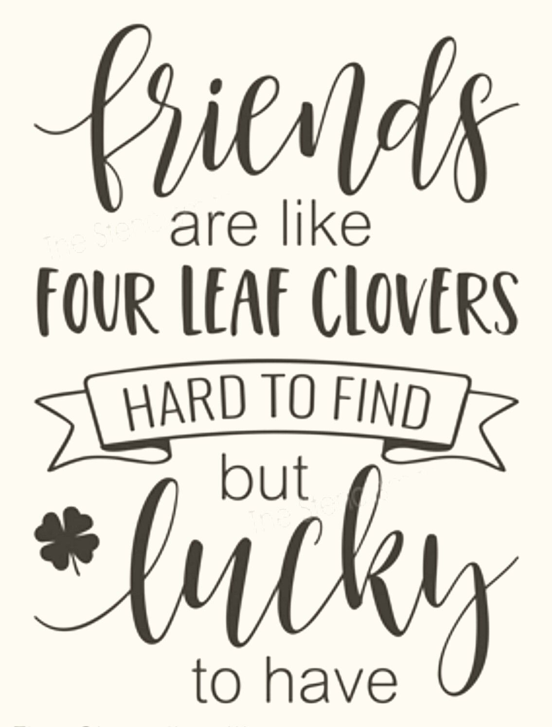 Download Lucky friends | Friends are like, Chalkboard designs ...