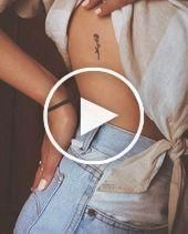 81 Small Meaningful Tattoos for Women Permanent and Temporary Tattoo Designs – #…