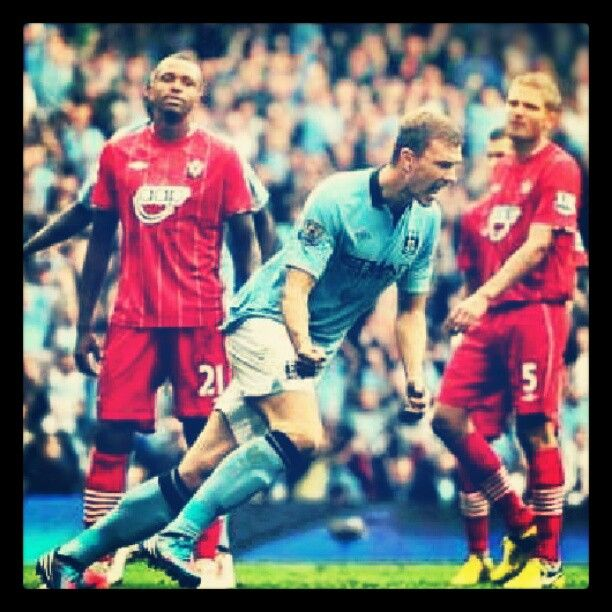 edin  give us the draw vs the saints #together  #mcfc #champions - taken by @mariovg7 - via http://instagramm.in