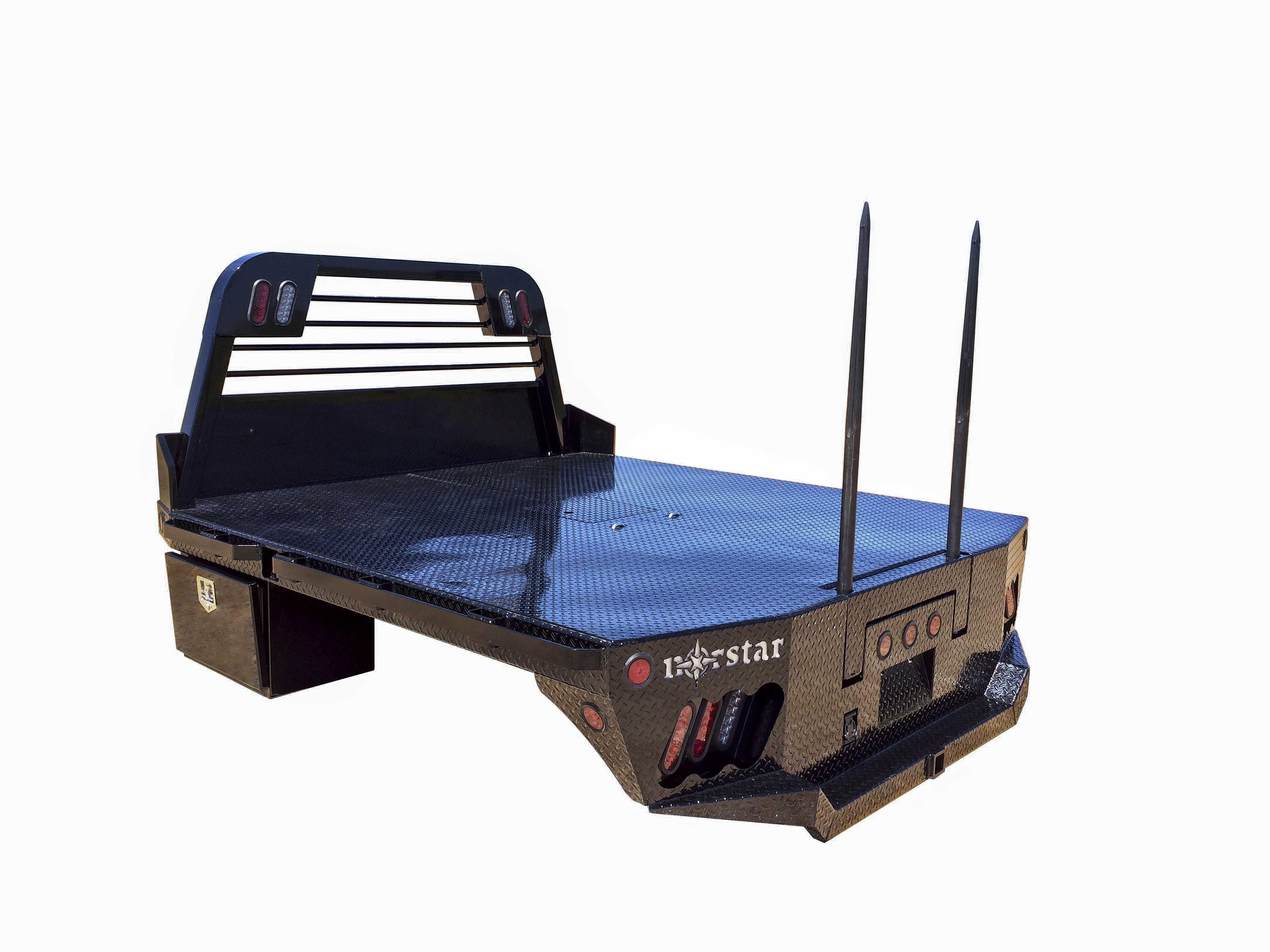 Norstar Model SR Truck Bed with HB1 Bale Spike Option