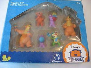 Buy Disney Bear In The Big Blue House Figures Play Set New Pvc Rar