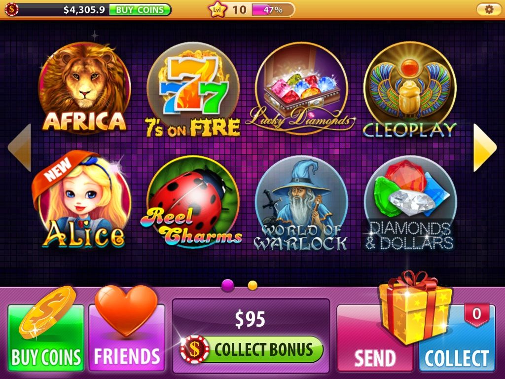 Charming House Of Fun Slots App Review   How To Get More Coins For House Of Fun