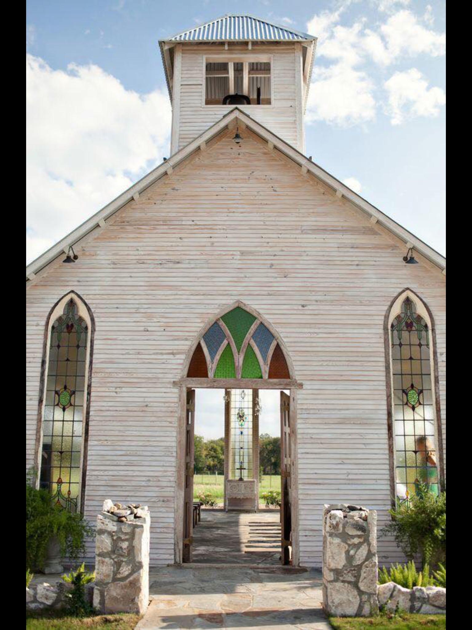 Looks Like An Open Air Church Open Air Chapel Gruene Estate Old Country Churches