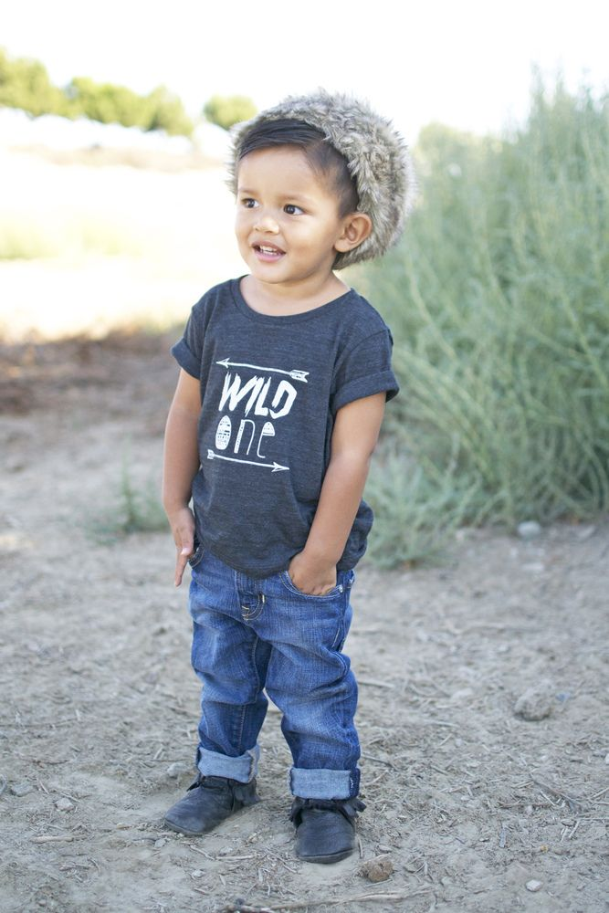 Image of Wild One Tri-Blend Tee