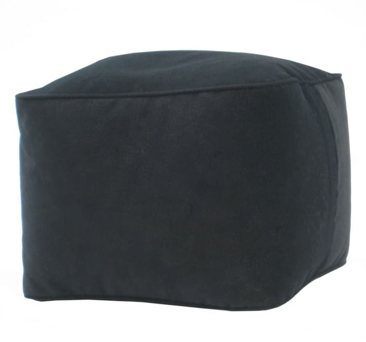 Strange Microsuede Beanbag Cube Products Bean Bag Living Room Pabps2019 Chair Design Images Pabps2019Com