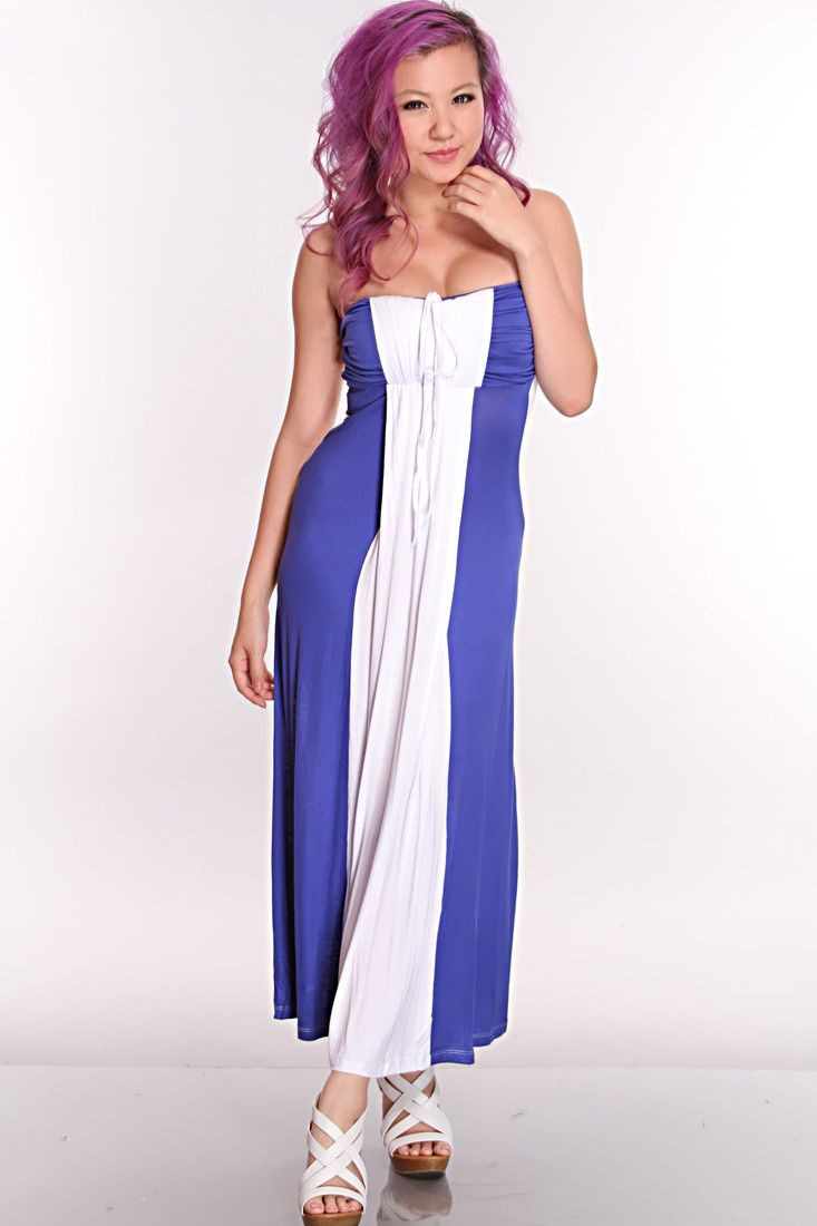 Head out to the beach in this sexy maxi dress! Its comfortable yet ...