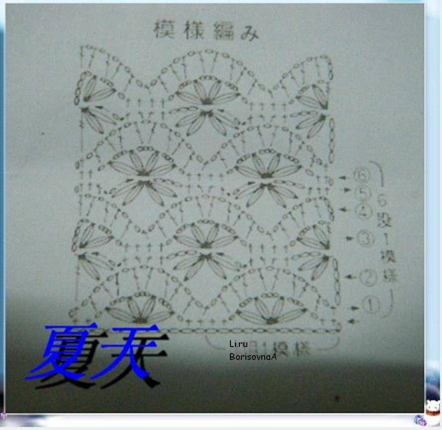 page 2 of 2 - pattern that would be good for shawl  Красивый узор для шали
