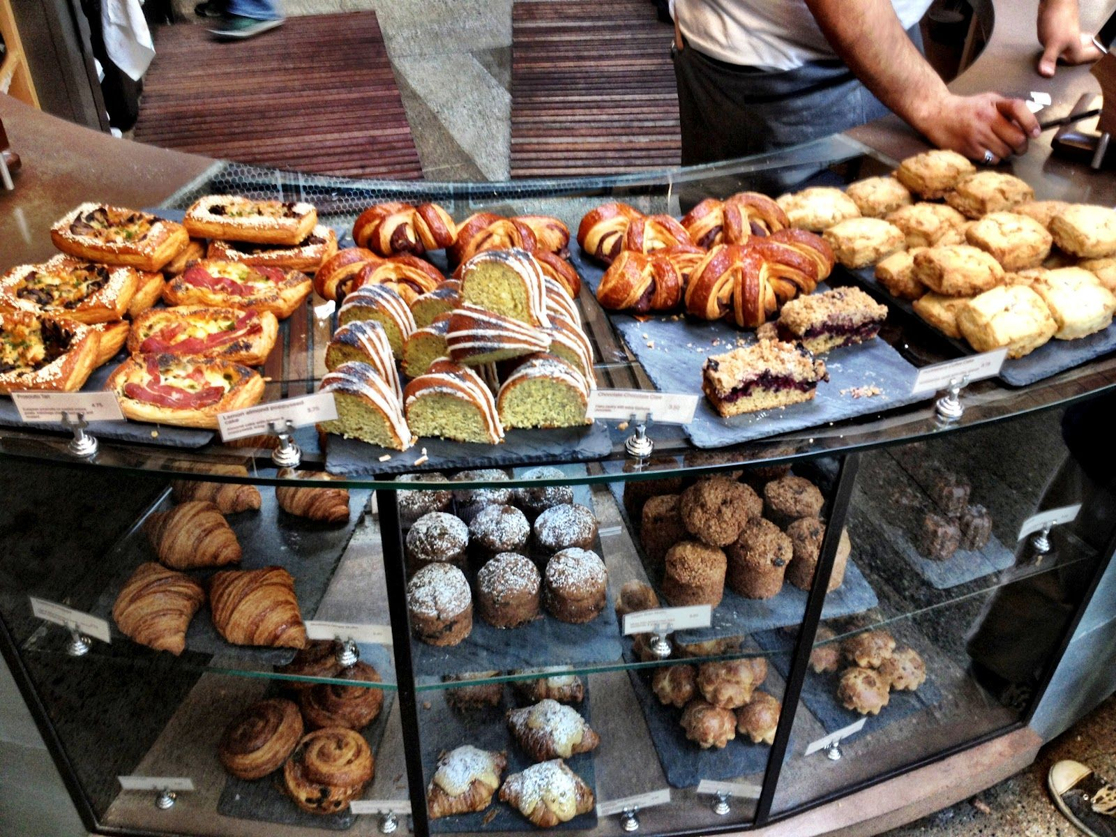 SIGHTGLASS COFFEE / San Francisco just look at the pastry display ...
