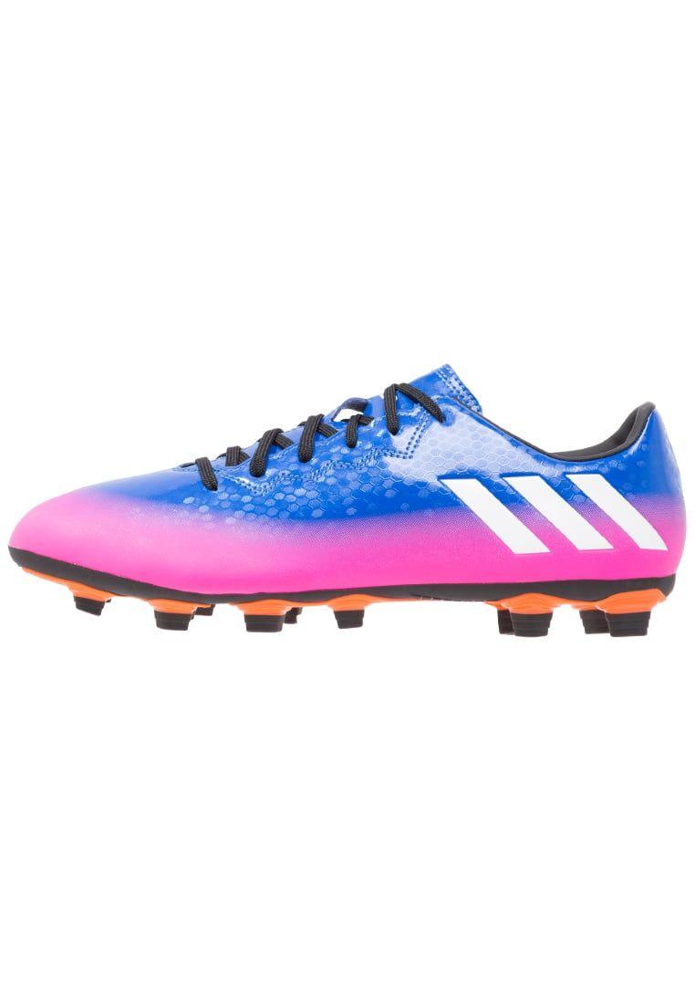 Haz clic para ver los detalles. Envíos gratis a toda España. Adidas  Performance MESSI 16.4 FXG Botas de fútbol con tacos blue white solar ... a72c33e5bfe5b