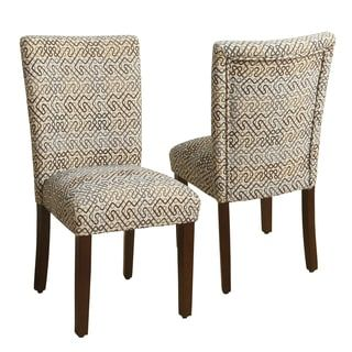 Merveilleux HomePop Parsons Chair   Set Of 2   Overstock.com Shopping   The Best Deals  On Dining Chairs