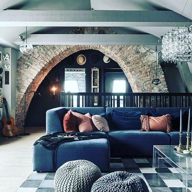 Loft...in stile industriale! ~~~~~~~~~~~ #casa #soggiorno ...