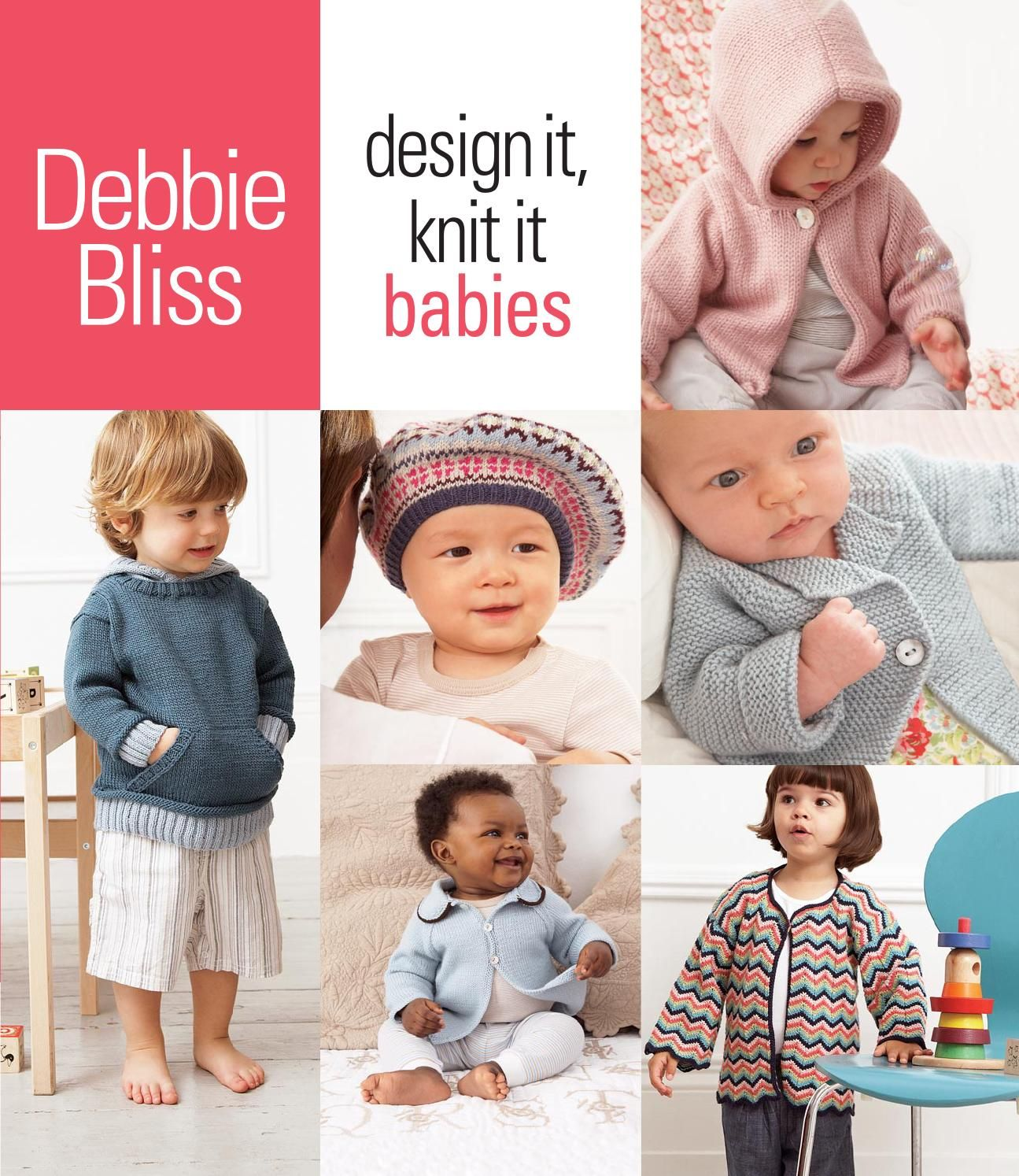 Debbie Bliss Design It Knit It Babies | Babies, Knitting patterns ...
